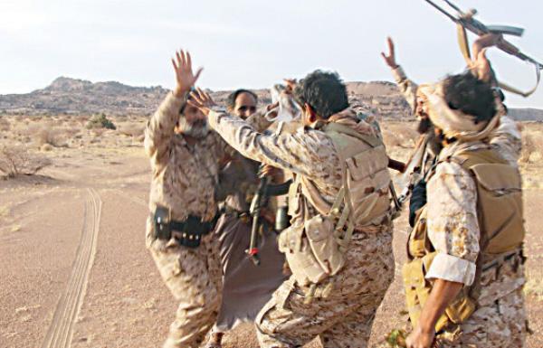 معارك ضارية بالجوف مع استمرار تقدم الجيش اليمني