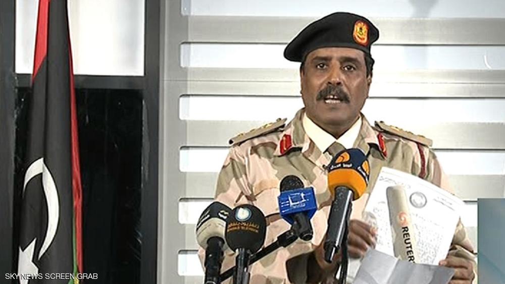 الجيش الليبي يوضح ملابسات صد هجوم