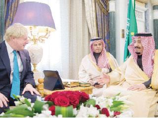 بريطانيا تدعم السعودية في الرد على هجمات الحوثيين
