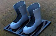 أحذية تدفئ الأقدام قريبا في موسكو