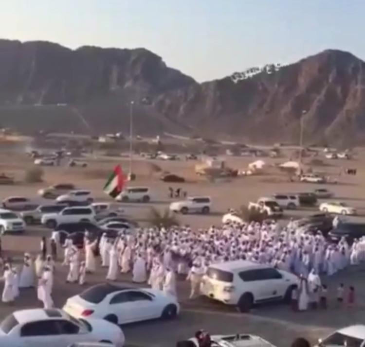 قبيلة الظهوريين تبرز مشاركتها في  احتفالات اليوم الوطني 45 في (الفقيت)