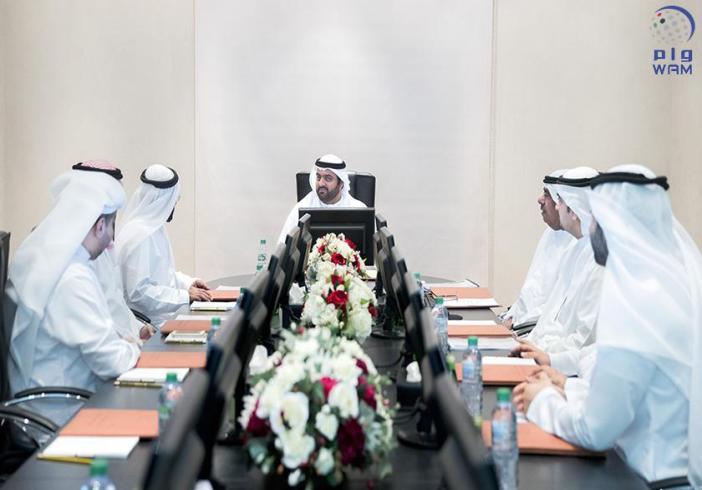 محمد بن حمد الشرقي يترأس اجتماع مؤسسة الفجيرة لتنمية المناطق