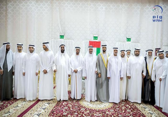 حاكم الفجيرة يحضر زفاف أحمد الشرقي