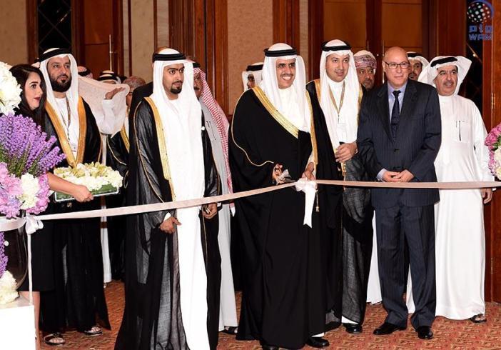 انطلاق فعاليات المعرض الاعلامي المصاحب للقمة الخليجية  في المنامة