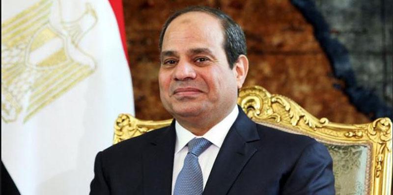 الرئيس المصري عبد الفتاح السيسي يصل إلى الإمارات
