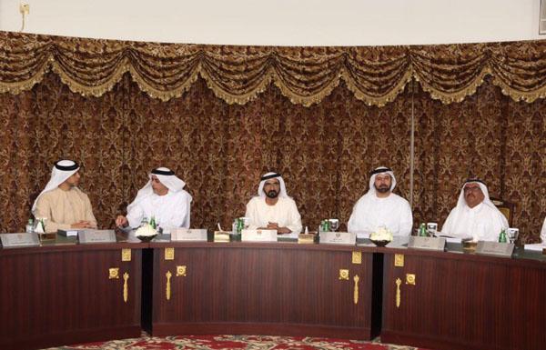 محمد بن راشد يترأس اجتماع مجلس الوزراء في دار الاتحاد بدبي