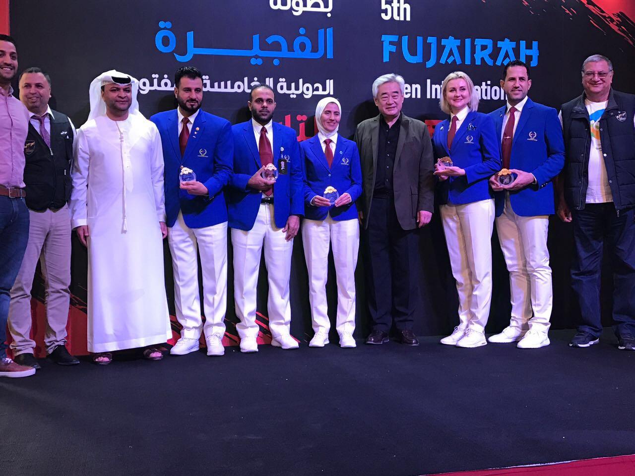 الإماراتي اسماعيل الصابري بين أفضل خمسة حكام في دولية الفجيرة للتاكواندو