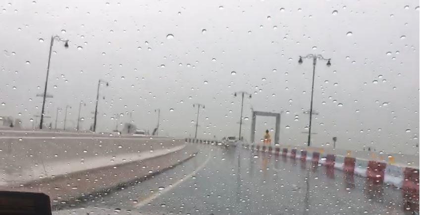 أمطار الخير تعم الدولة