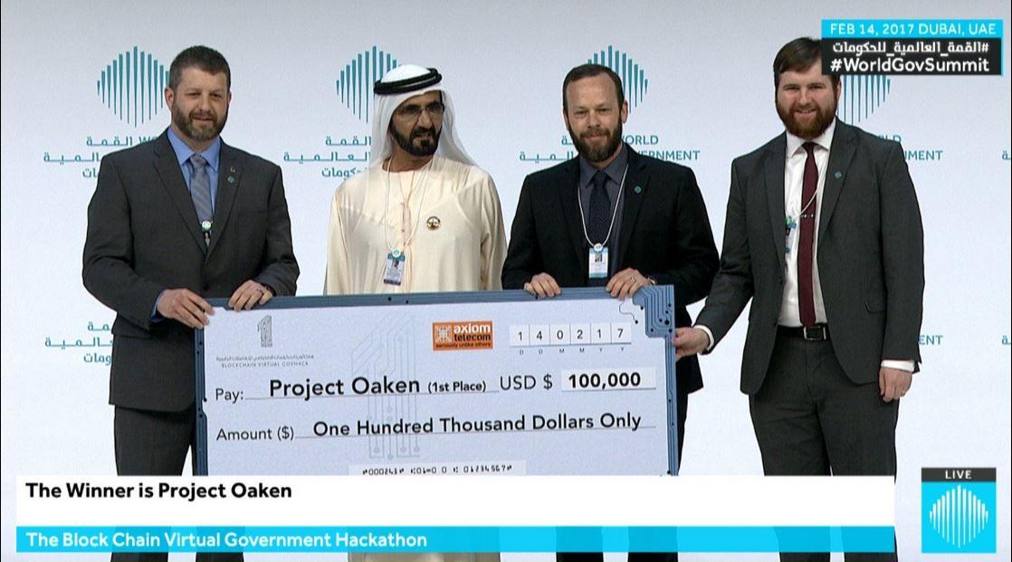 محمد بن راشد يكرم الفائزين بجوائز القمة العالمية للحكومات