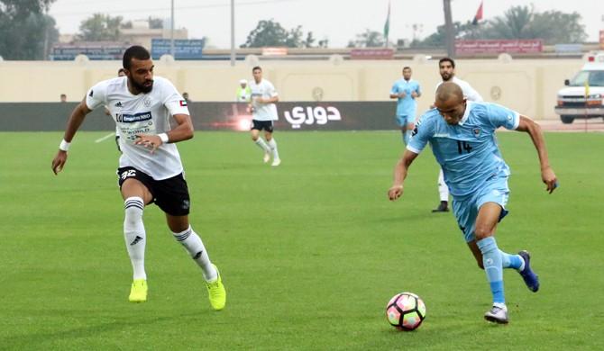 دبا الفجيرة  يتعادل مع النصر في دوري الخليج العربي