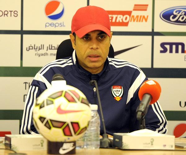 مهدي علي يعلن استقالته من تدريب المنتخب الإماراتي