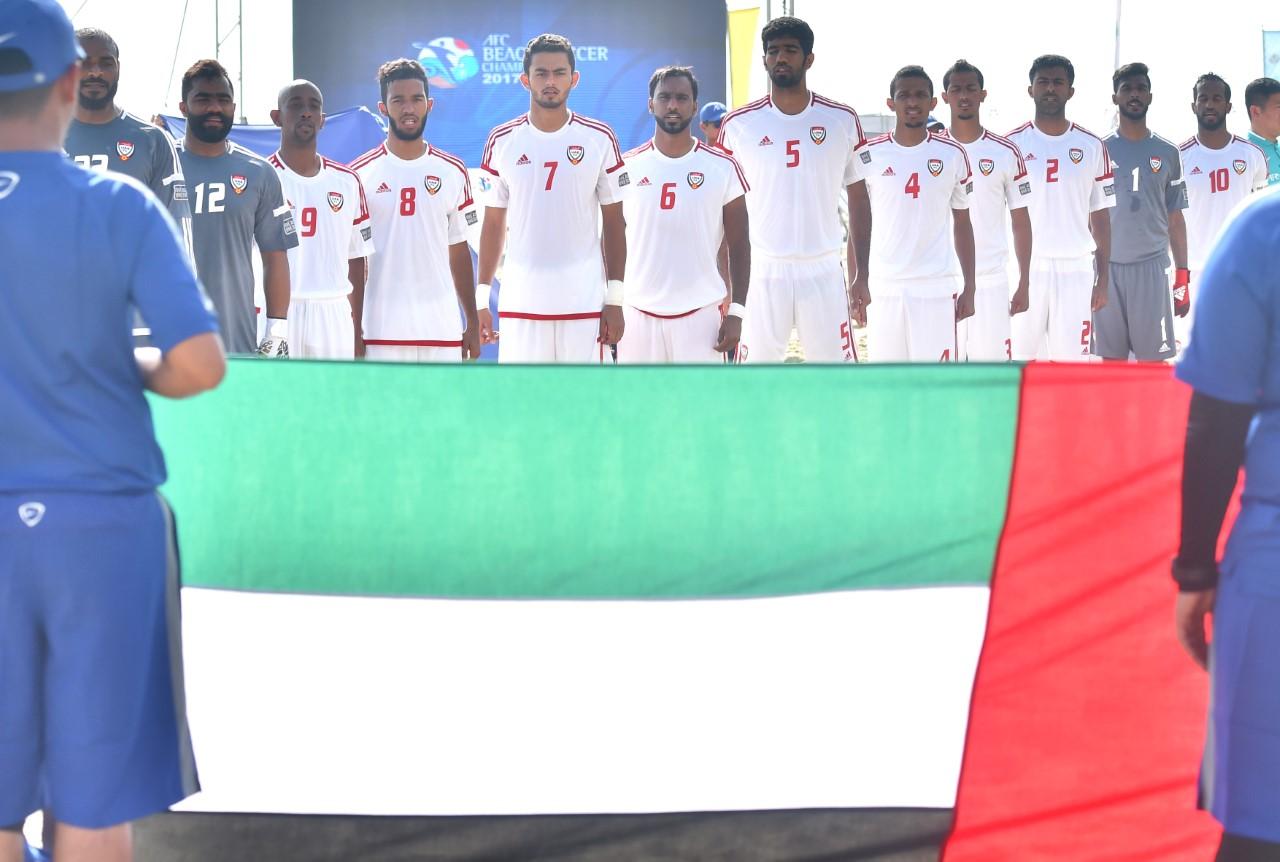 فوز ساحق لمنتخب الإمارات على العراق بآسيوية الكرة الشاطئية