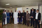 عبد الله الشرقي يزور جامعة العلوم الإبداعية بالفجيرة