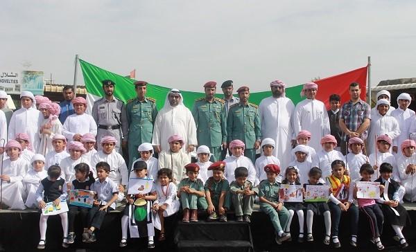 مركز مسافي الثقافي يشارك في فعاليات أسبوع المرور الخليجي