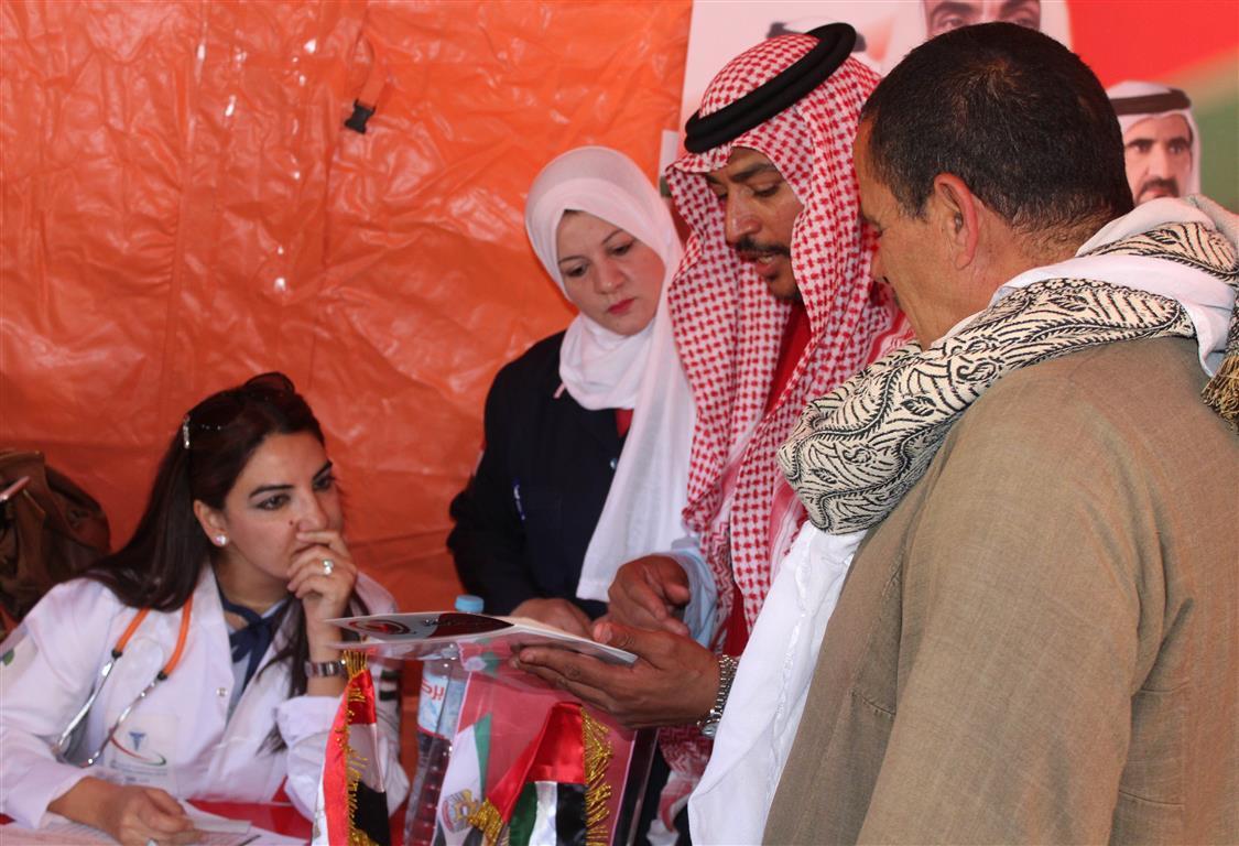 قوافل زايد الخير تختتم مهامها الانسانية في القرى المصرية