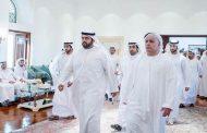 ولي عهد الفجيرة يقدم واجب العزاء في وفاة شيخة بنت عبدالله بن كلبان