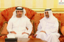 محمد بن زايد يقدم واجب العزاء إلى حاكم الفجيرة بوفاة حمد بن سيف الشرقي