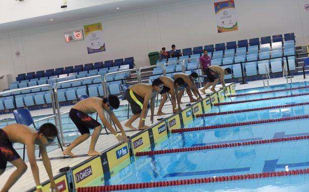 طلبة الفجيرة يتميزون في سباحة الأولمبياد المدرسي