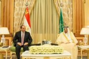 خادم الحرمين الشريفين والرئيس المصري يبحثان مستجدات الاحداث في المنطقة