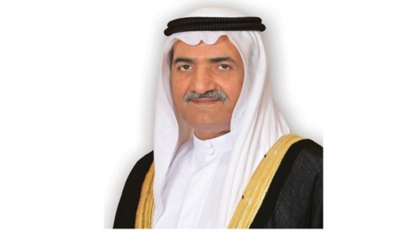حاكم الفجيرة يتلقى تعازي ملك البحرين بوفاة حمد بن سيف الشرقي
