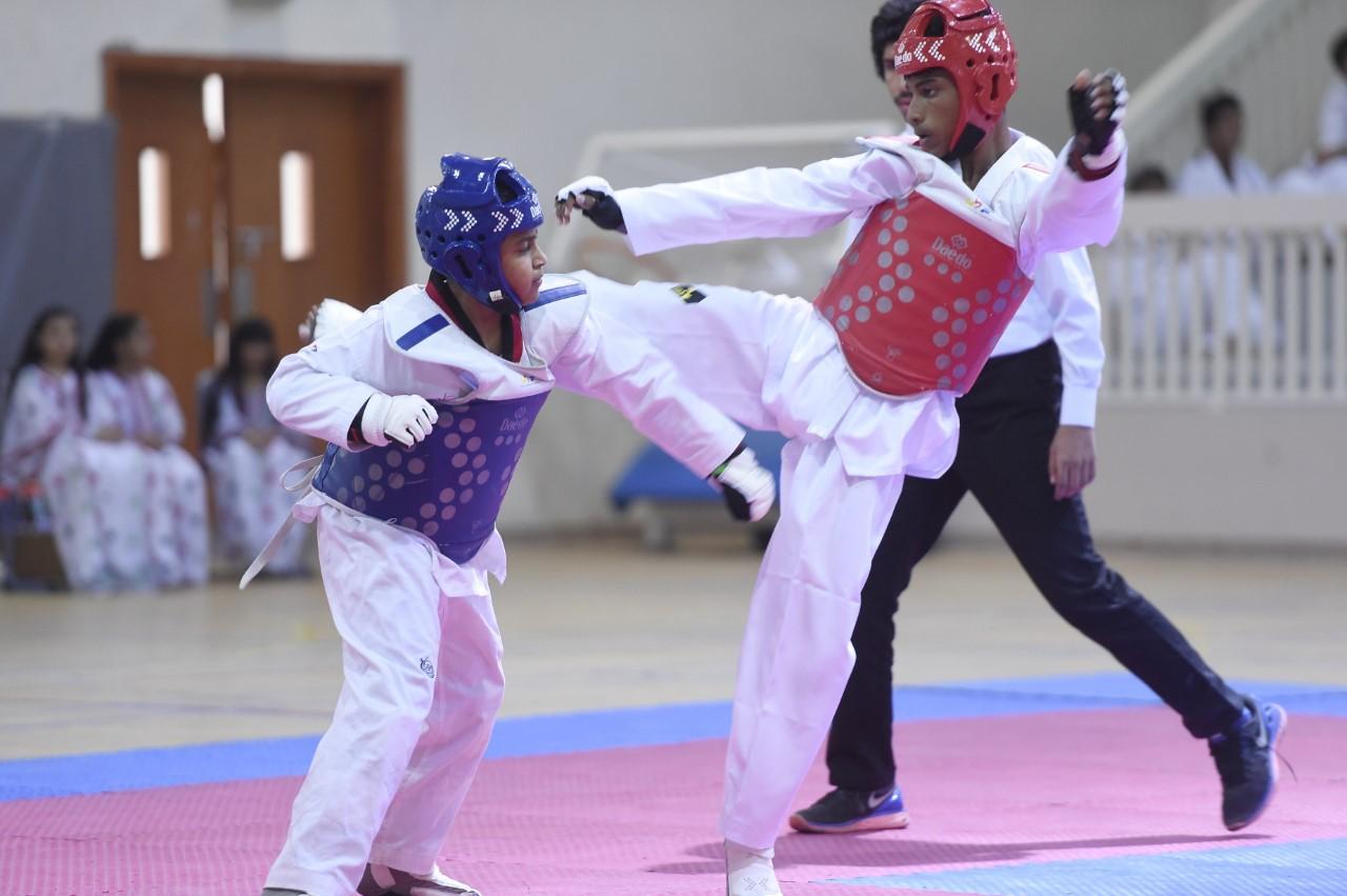 4 ذهبيات لبنين الفجيرة في تايكواندو الأولمبياد المدرسي