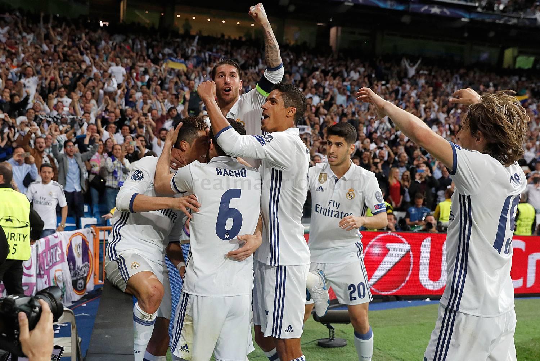ريال مدريد إلى نهائي دوري أبطال أوروبا لكرة القدم