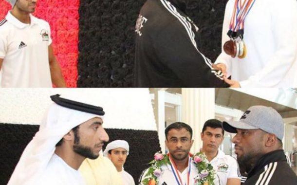 منتخب الإمارات لبناء الأجسام يحرز 9 ميداليات في بطولة آسيا