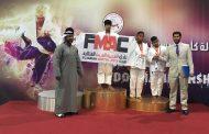 أبطال جودو نادي الفجيرة للفنون القتالية في المركز الثالث لكأس رئيس الدولة