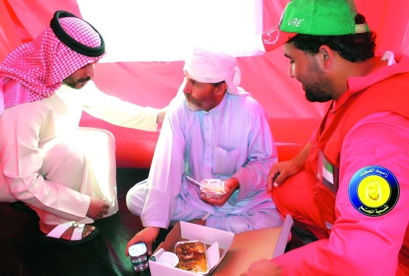 قوافل شباب الخير تبدأ مهامها التطوعية في أبوظبي