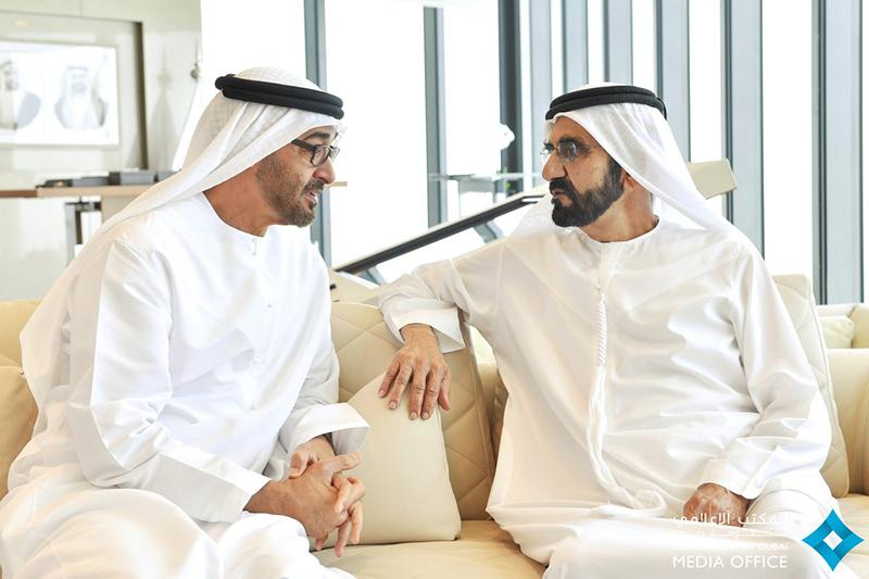محمد بن راشد ومحمد بن زايد يؤكدان أهمية دور الشباب المواطن في الإنماء