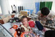 فريق الهلال الأحمر الإماراتي يعايد مرضى مستشفى المكلا