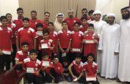 نادي الفجيرة يكرم أبطال السباحة لحصادهم 50 ميدالية و5 كؤوس
