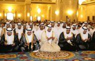 حاكم الفجيرة يؤدي صلاة عيد الفطر في جامع الشيخ زايد الكبير