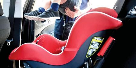 مجلس الوزراء يعتمد نظاماً إماراتياً لمقاعد الأطفال بالمركبات