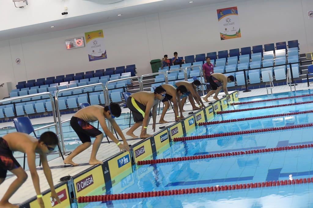 توزيع المناصب الإدارية لاتحاد الإمارات للسباحة