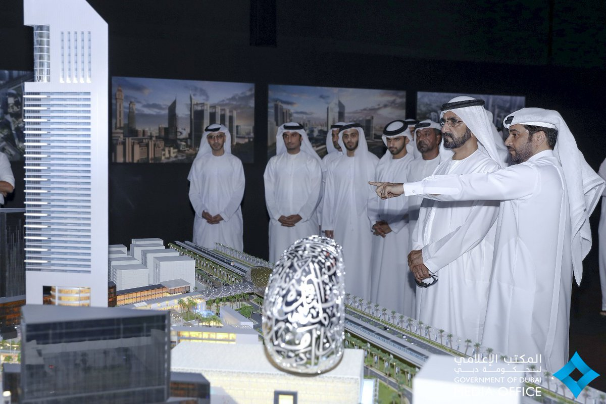 محمد بن راشد يشهد إطلاق مشروع