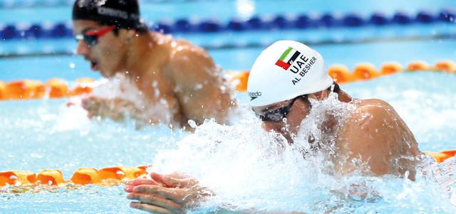 عمومية السباحة توافق على اختيار عبد الله مبارك لعضوية الاتحاد