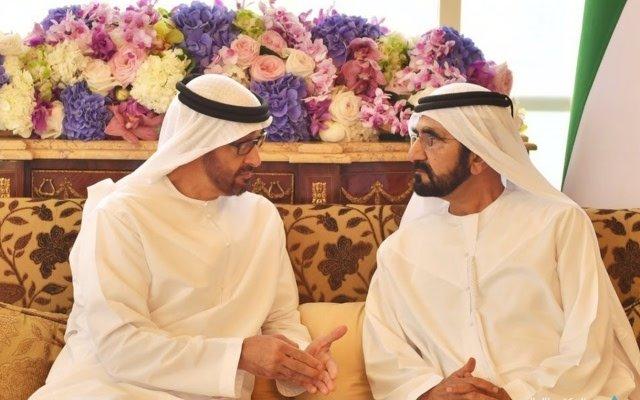 محمد بن راشد ومحمد بن زايد يبحثان قضايا الوطن والمواطن