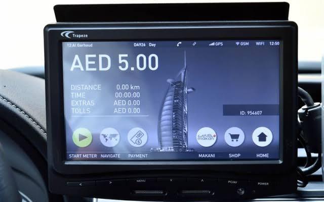 «طرق دبي» تبدأ تركيب عدادات ذكية في مركبات الأجرة