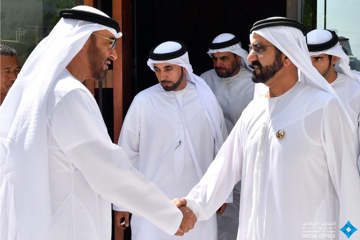 محمد بن راشد ومحمد بن زايد يبحثان شؤون الوطن والمواطنين