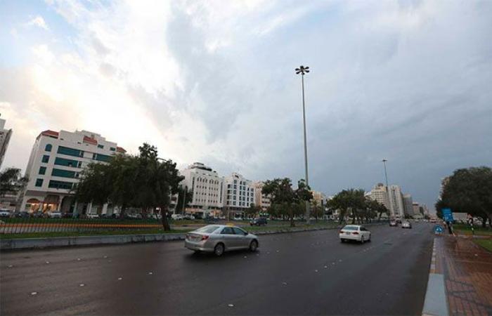 فرصة لسقوط الأمطار اليومين المقبلين على بعض مناطق الدولة