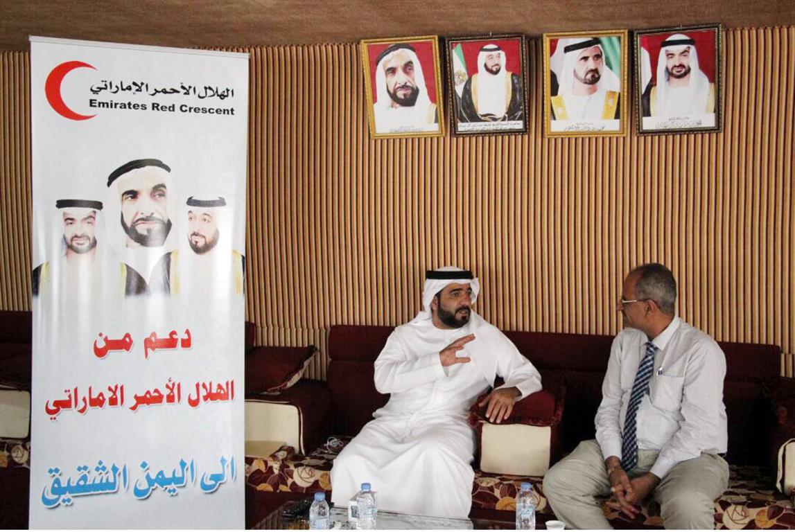 الإمارات تمول بناء وترميم عدد من المدارس في محافظة الضالع