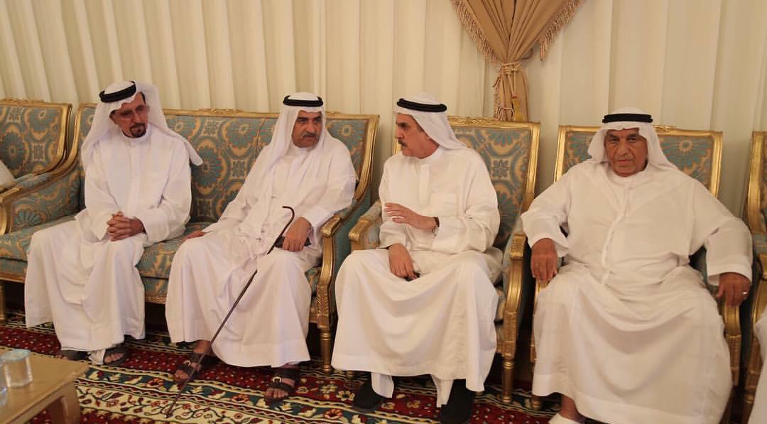 حاكم الفجيرة يقدم واجب العزاء في وفاة هيكل محمد البلوشي