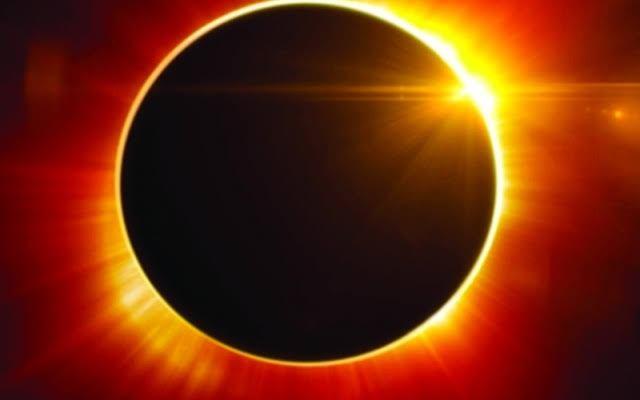 العالم يشهد كسوف الشمس اليوم