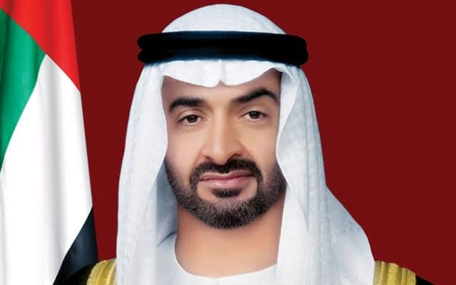 محمد بن زايد يستقبل ولي عهد دوقية لوكسمبورج