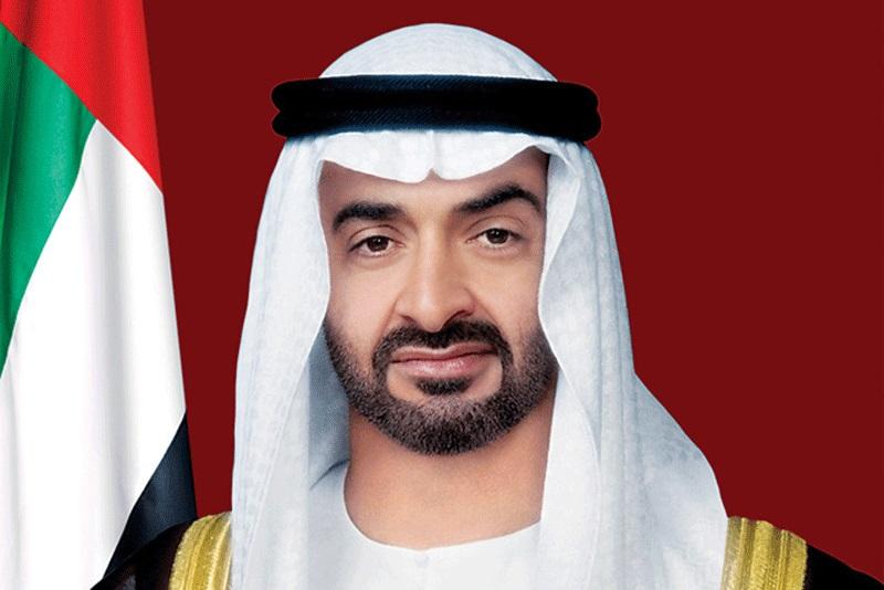 محمد بن زايد يتلقى اتصالاً هاتفياً من الرئيس الأميركي