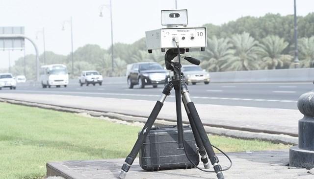 تحديد سرعة أجهزة ضبط الرادار بمدينة كلباء