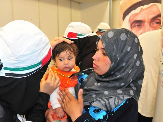 مستشفى «زايد العطاء» المتحرك يصل إلى مصر لعلاج الفقراء