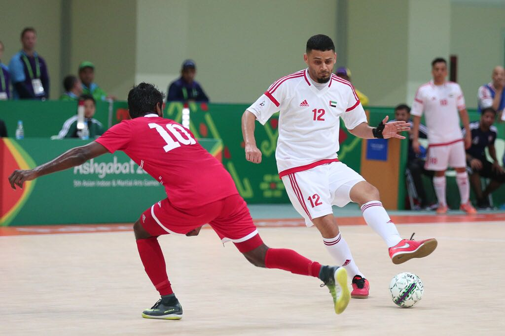 فوز الإمارات على المالديف في آسيوية الصالات