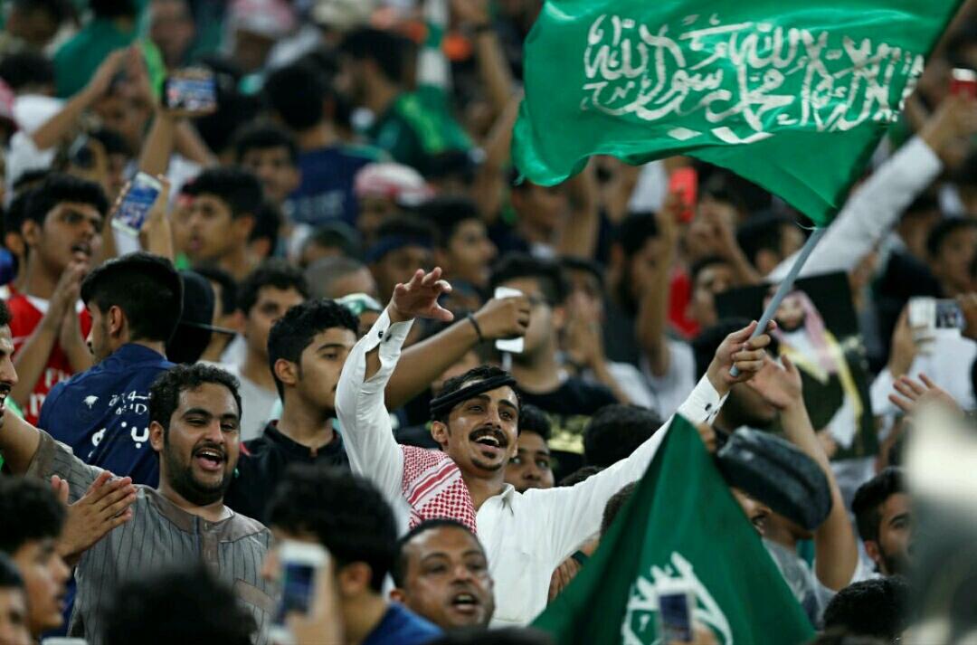 المنتخب السعودي يتأهل إلى نهائيات كأس العالم في روسيا